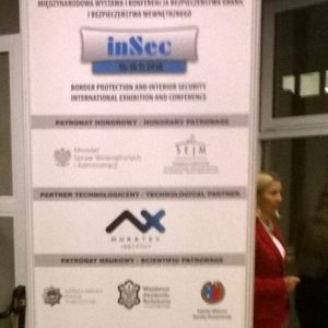 Ekspozycja instytutu MORATEX na konferencji INSEC 2018