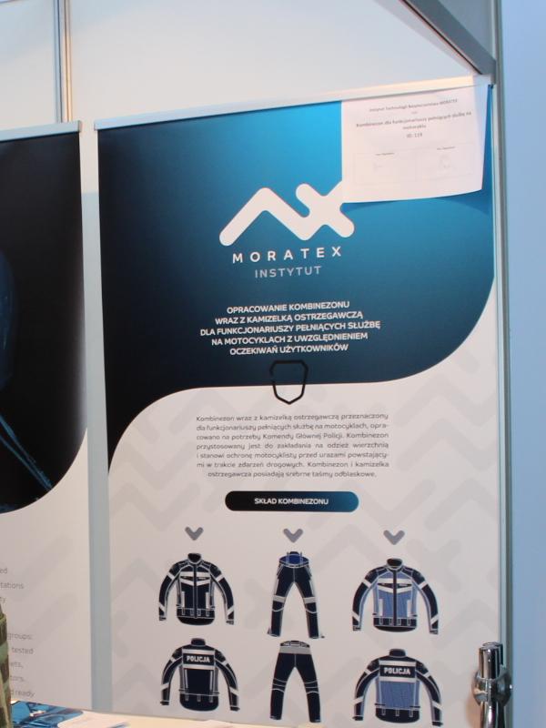 INTARG 2019 - MORATEX - Kombinezon motocyklisty