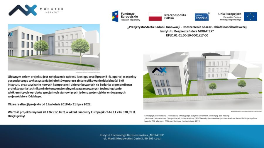 Biuletyn projektów inwestycyjnych w ramach RPO województwa łódzkiego